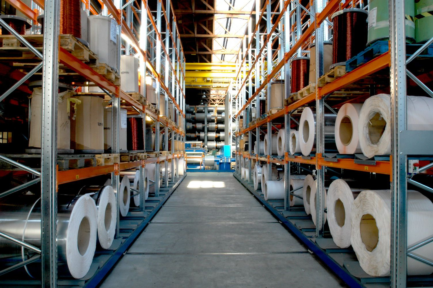 Photo Gallery Of Mobile Rack Installations In Warehouses